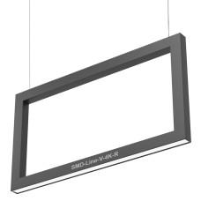 Светодиодный профильный светильник SMD-Line-V-4K-R Прямоугольник 20W 500х1000mm
