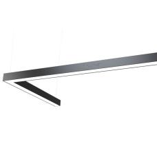 Светодиодный профильный линейный светильник SMD-Line-2K Угол 60W 500x1000mm