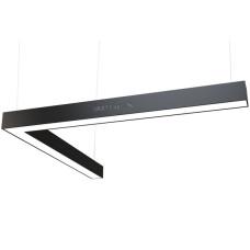 Светодиодный профильный линейный светильник SMD-Line-2K Угол 40W 500х500mm