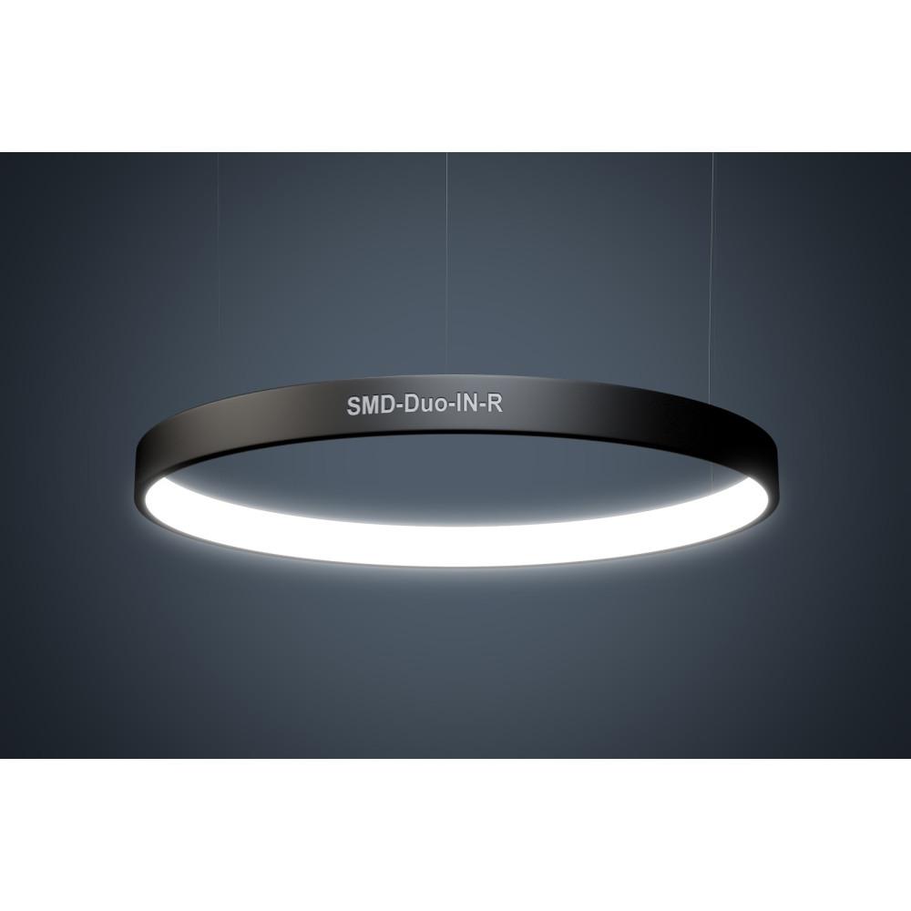 Светодиодный профильный светильник SMD-Duo-IN-R Кольцо 140W 1400 mm