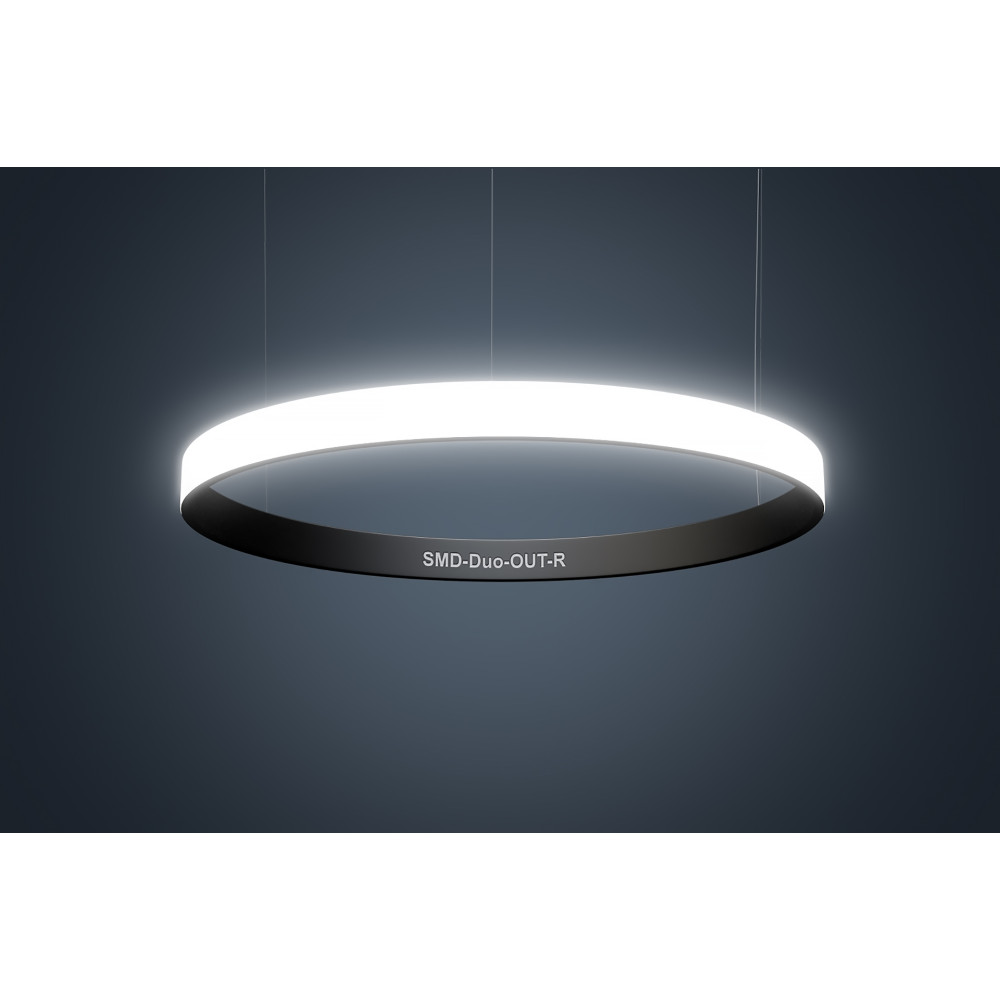 Светодиодный профильный светильник SMD-Duo-OUT-R Кольцо 110W 1100 mm