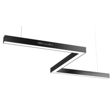 Светодиодный профильный линейный светильник SMD-Line-ZK-3 Зигзаг 60W 1500mm